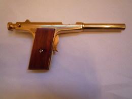 Rare Pistolet De Salon Ancien Cal 6mm Flobert - Armes Neutralisées