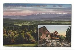 21329 - Panorama Von Der Gartenwiztschaft Pension Baldegg Ob Baden - AG Argovie