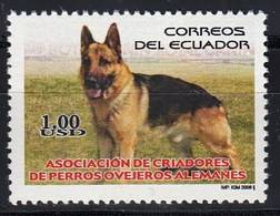 Ecuador 2006 German Shepherd Dog 1v MN - Hunde