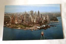 NEW YORK CITY AERIAL VIEW OF LOWER MANHATTAN - Manhattan