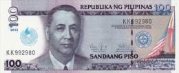 PHILIPPINES P. 221 100 P 2013 UNC - Philippines