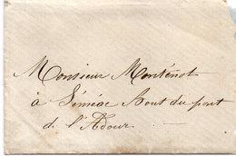Lettre (LAC) Non Timbrée écrite A JUILLAN  A L' Adresse : SEMEAC Bout Du Pont De L' Adourn  (110958) - France