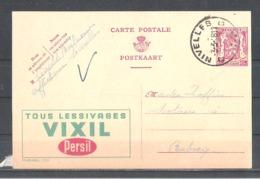 """EP Belgique Publibel 700 """" Tous Lessivages Vixil Persil """" - Nivelles 1948 Léopold Boileau - Interi Postali"""
