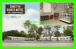 CHARLESTON, SC - SMITH RANCH MOTEL - 2 MULTIVUES - E. C. KROPP CO - - Charleston