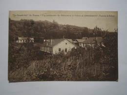 """GIROMAGNY .- """"Le Grand Air """" De Troyes - Vue Panoramique Des Bâtiments De La Colonie De GIROMAGNY - Giromagny"""