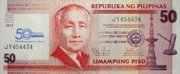 PHILIPPINES P. 215 50 P 2013 UNC - Philippines