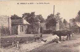 Marly-le-Roi.  La Grille Royale - Marly Le Roi