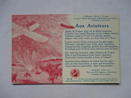 HERMAN    -  AUX AVIATEURS    ,   CHANSON D' ANDRE SORIAC             TTB - Militaria