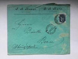 K6 Russia Russie 1899 Brief Von Moskau Nach Bern - 1857-1916 Imperium