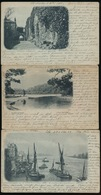 LOCH KATRINE    SILVER STRAND + 2 CARDS    2 SCANS - Perthshire