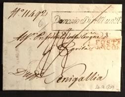 1809 ANCONA PER SENIGALLIA - Italy