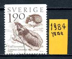 SVEZIA - SVERIGE - Year 1984 - Usato - Used - Utilisè - Gebraucht.- - Schweden
