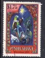 Zimbabwe 1994 Christmas $1.75c Value, Used, SG 885 (BA) - Zimbabwe (1980-...)