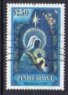 Zimbabwe 1994 Christmas $2.30c Value, Used, SG 887 (BA) - Zimbabwe (1980-...)