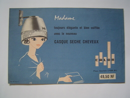 PUBLICITE CALOR / SECHE CHEVEUX MADAME 1955 - Publicités