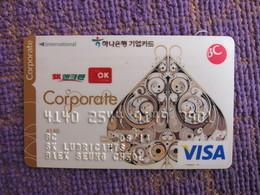Korea Invalied VISA Card, Poker Spade, Corporate Card(rare) - Korea, South