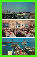 ATLANTIC CITY, NJ - CAPT. STARN'S RESTAURANT & BOATING CENTER AT INLET - 3 MULTIVUES - JACK FREEMAN - - Atlantic City
