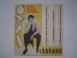 DEPLIANT Ancien : PUBLICITE RASOIR VISSEAUX - LYON 1955 - Publicités