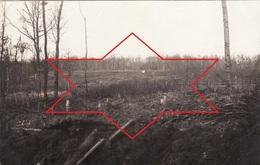 """CP Photo Mars 1916 Secteur ASPACH-LE-BAS (Niederaspach) - """"Kreuzwald"""" Réseau De Fil De Fer Barbelé, Côte 322 (A204, Ww1) - France"""