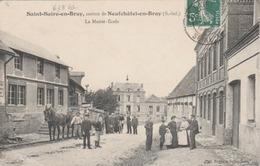 St. Saire En Bray : La Mairie-Ecole. (TTB Animation). - France