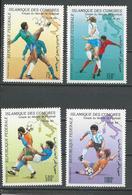 COMORES Scott C210-C213 Yvert PA290-PA293 (4) ** Cote 15,00 $ 1990 - Comores (1975-...)