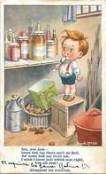 -ref-B43- Illustrateurs - Illustrateur Mc Gill Donald - Attaquant Les Reserves - Confiture - Confitures -carte Bon Etat - Mc Gill, Donald