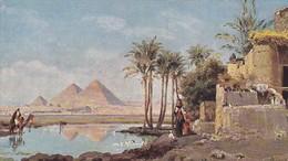 C. Wuttke: Les Pyramides Of Gizeh, EGYPT, 1900-10s - Guiza