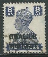 Gwalior -  Yvert N° 100 Oblitéré  -  Abc 29616 - Gwalior