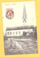 "Carte Postale En Noir & Blanc "" De Kerk "" à WORTEGEM - Wortegem-Petegem"
