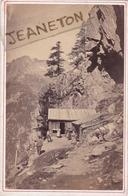 Photo Sur Carton  16,5 Cm. X 10,8 Cm.  -  CHAMONIX.  -  Pavillon  Du  Chapeau. - Chamonix-Mont-Blanc