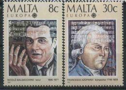 1985 Europa C.E.P.T. , Malta , Serie Completa Nuova (**) - Europa-CEPT
