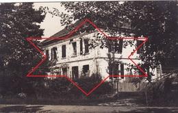 CP Photo Octobre 1915 ASPACH-LE-BAS (Niederaspach) - Villa Se Trouvant Entre Les Tranchées (A204, Ww1, Wk 1) - France