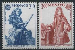 1985 Europa C.E.P.T. , Monaco , Serie Completa Nuova (**) - Europa-CEPT