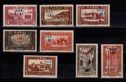 Maroc - YV 153 à 160 N** Oeuvres De L'enfance Cote 44+ Euros - Neufs
