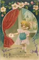 Belle Carte Gaufree - ENFANT - Scenes & Landscapes