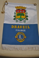 Rare Fanion Lion's Club Draveil - Organizations