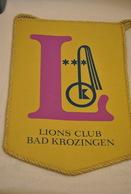 Rare Fanion Lion's Club Bad Krozingen - Organizaciones