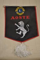 Rare Fanion Lion's Club Aoste - Organizations