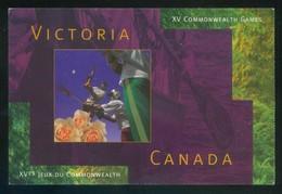 *XV Commonwealth Games - Victoria, Canada* Escrita. - Postales