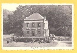 """Carte Postale En Noir & Blanc """" Au Bon Café (Touvent) """" à SIVRY - Sivry-Rance"""