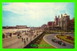 ATLANTIC CITY, NJ - VIEW OVER THE BEAUTIFUL BOARDWALK - JACK FREEMAN - ANIMATED - - Atlantic City