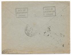 "1915 - MECA ""LIEU DE DESTINATION ENVAHI"" Sur ENVELOPPE De PARIS => DORIGNIES (NORD) => RETOUR - WW I"