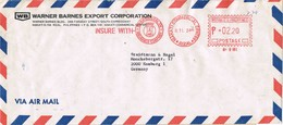 31116. Carta Aerea RIZAL (Filipinas). Franqueo Mecanico MAKATI Comercial - Filipinas