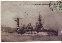 CPA - Marine Française - CHARLES-MARTEL - Cuirassé D'escadrille - Guerra