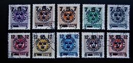 B2819 - Sweden - 1918 -  Mich. 115-124 - Schweden