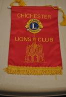 Rare Fanion Lion's Club Chichester - Organizations