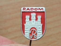 Z 671 - RADOM, POLAND, EMBLEME, BLASON, - Ciudades
