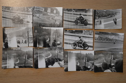 1975 Spa Francorchamps Course De Motos 11.5 X  8 Moto N°7  Barry SHEENE, Et La N°12, Patrick PONS - Foto
