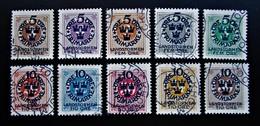 B2821 - Sweden - 1916 -  Mich. 86-95 - Schweden