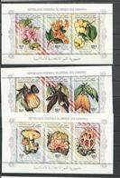 COMORES Scott 811d, 811e, 811f Yvert ? Michel 843-851 (9) ** Cote 48,00 $ 1994 - Comores (1975-...)